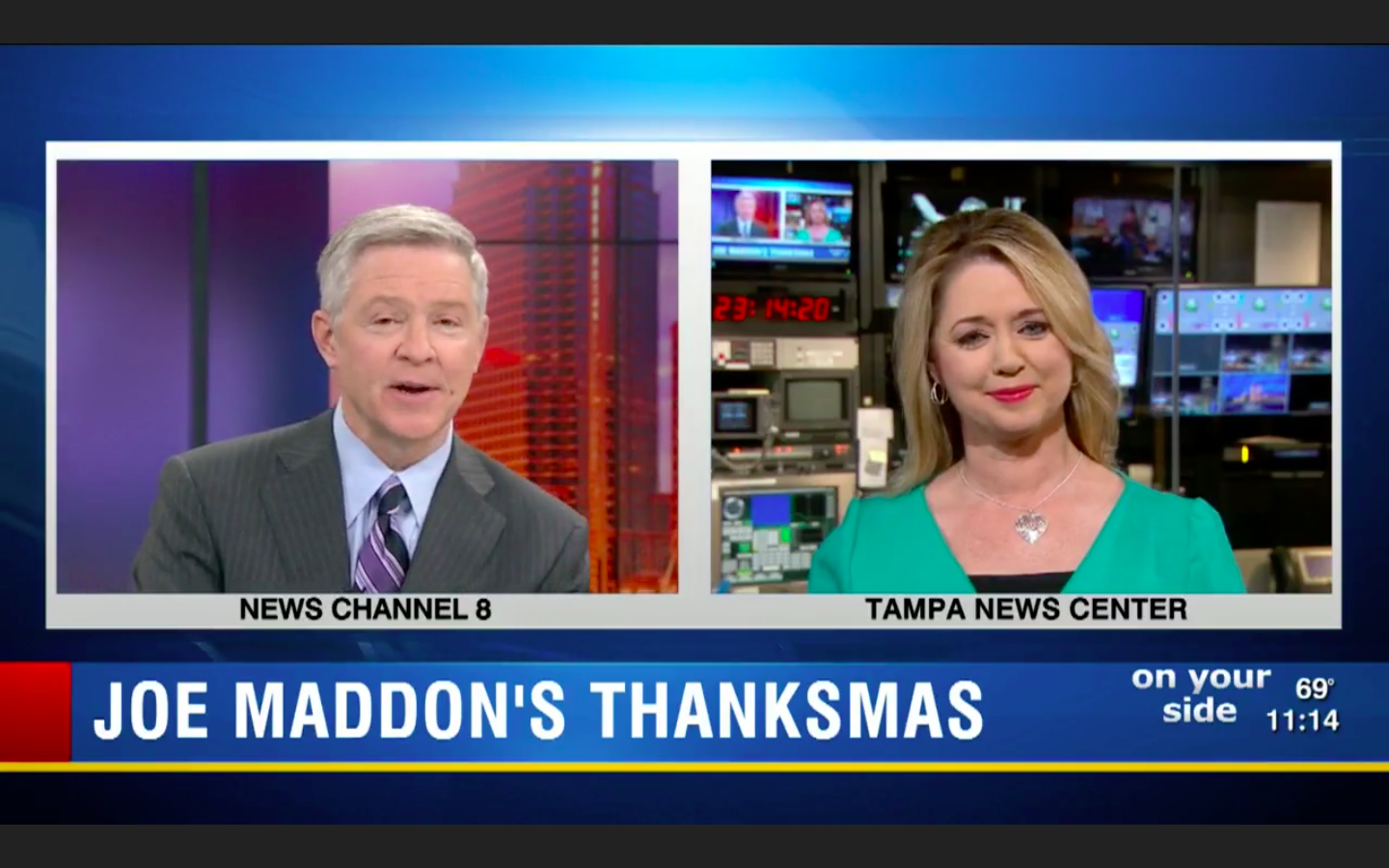 Former Rays manager Joe Maddon speaks on meaning of Thanksmas